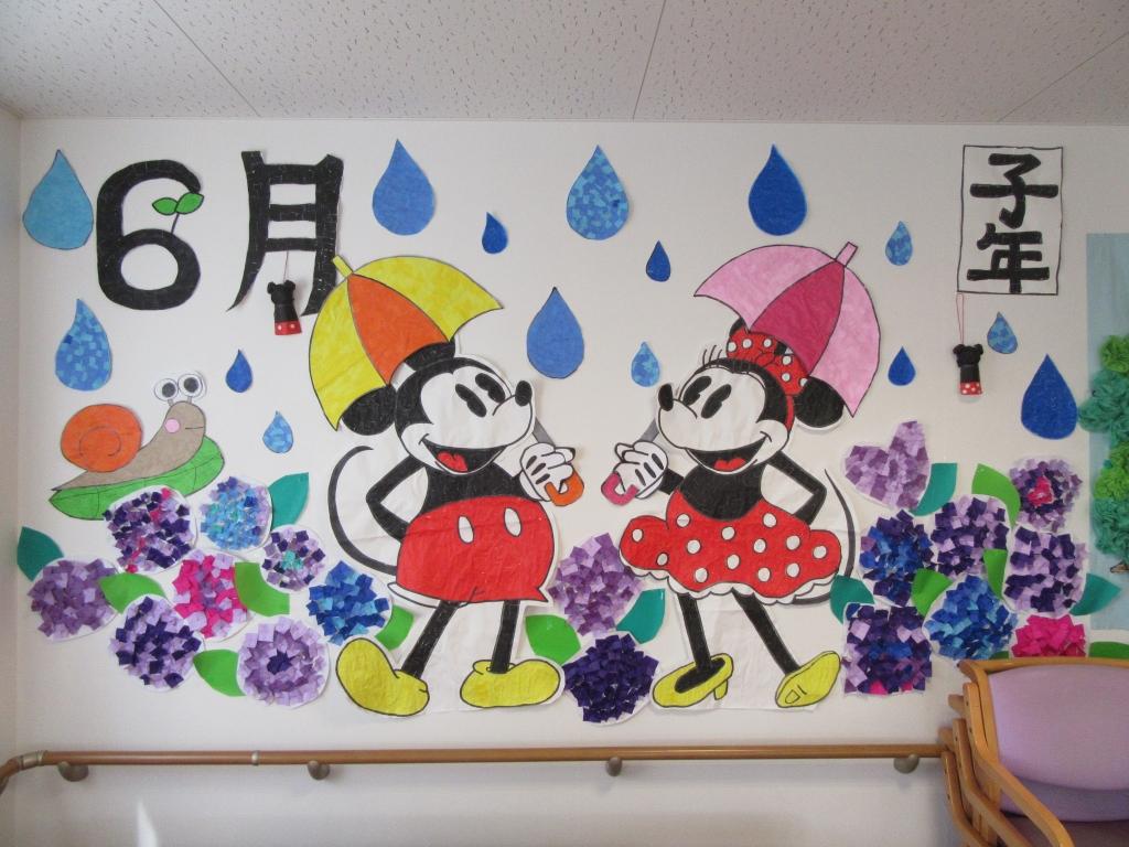 6月の壁絵